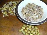 2 peeling the boiled Acorns.JPG