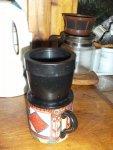 7 Filtering the Acorn coffee.JPG