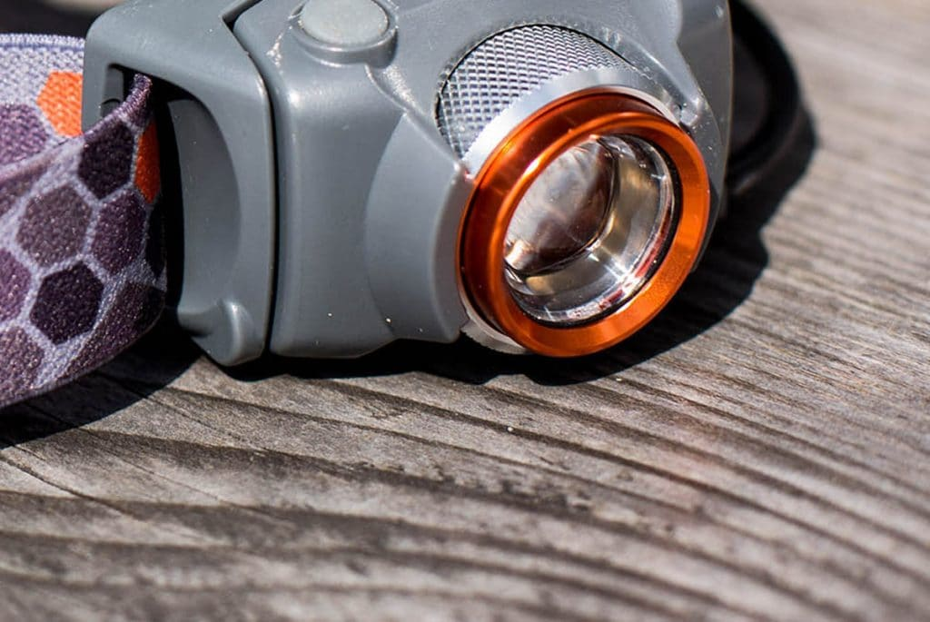 Alpkit Manta head torch lens