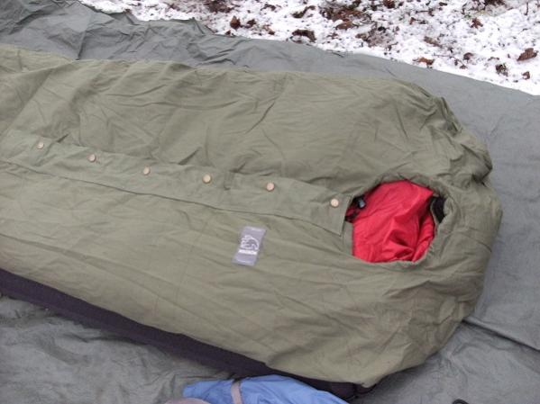 Nordisk Sleeping Bag Cover Closure Details Bushcraftuk