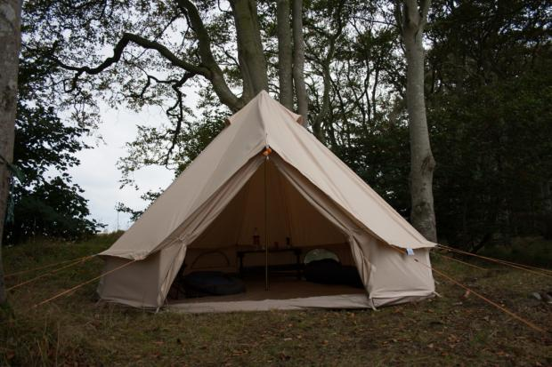 SoulPad 4000-Hybrid-G Canvas Bell Tent & SoulPad 4000-Hybrid-G Canvas Bell Tent - BushcraftUK