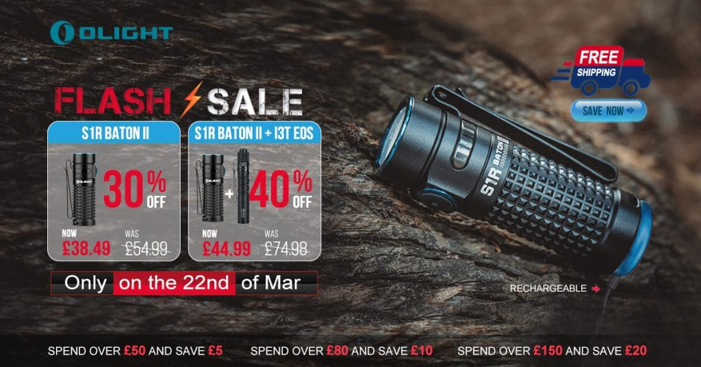 Olight Flash sale