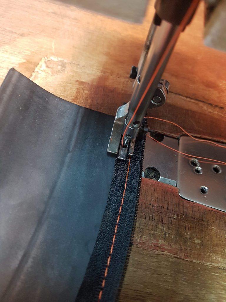 sewing zip